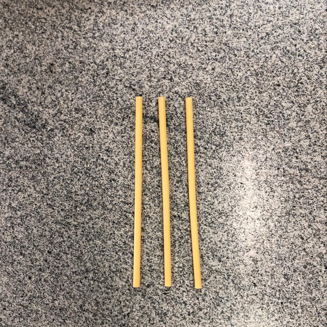 普通黄色胶棒,1.1x30cm