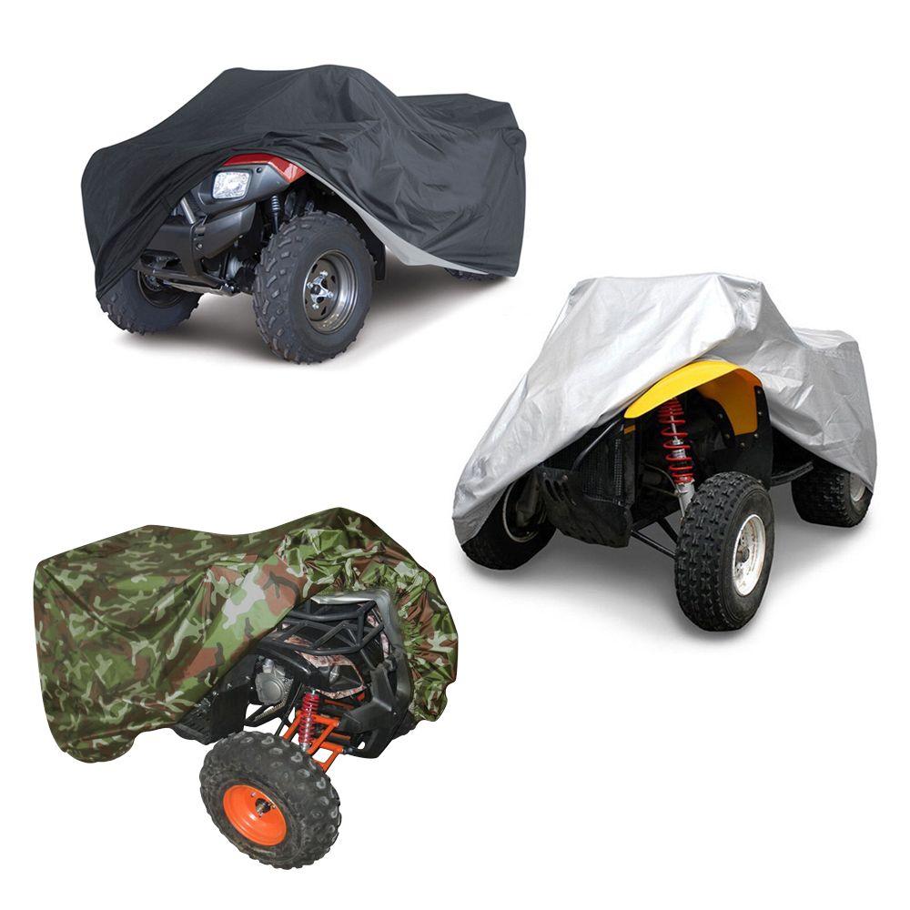 跨境亚马逊批发定制ATV Cover沙滩车车罩车衣防尘防晒防雪罩雨罩