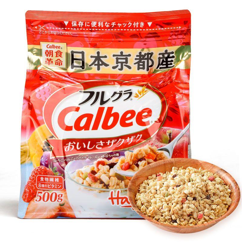 日本进口Calbee卡乐比 水果麦片