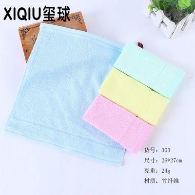 【5条装】竹纤维耐用居家洗脸儿童方巾