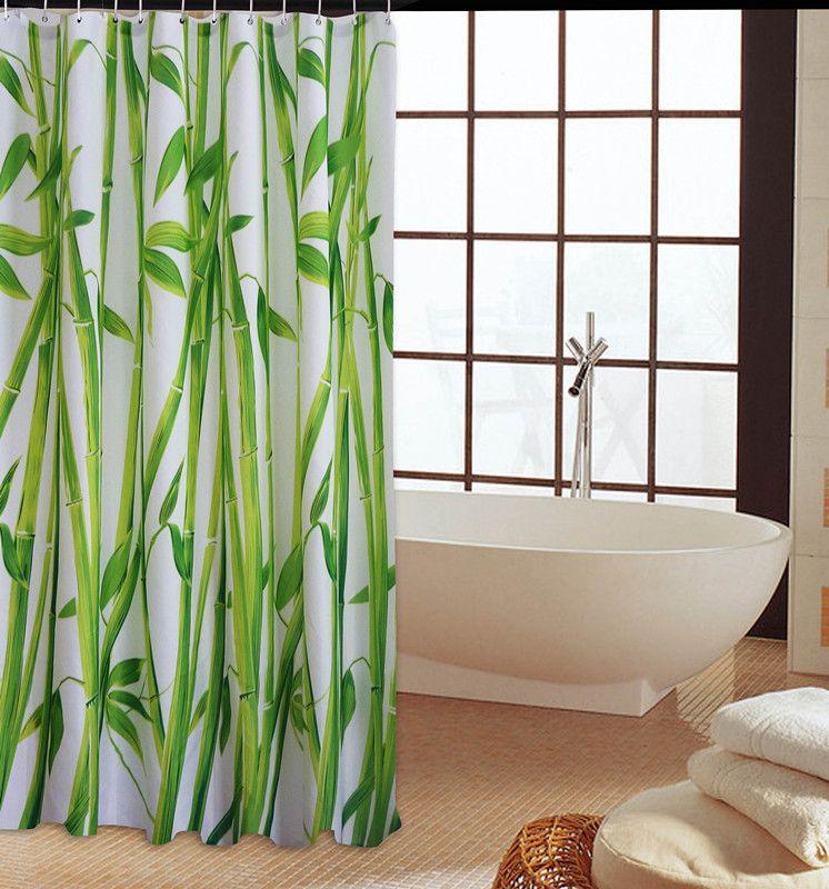 布厚卫生间浴帘防水布套装浴室加厚防霉帘子挂帘免打孔淋浴洗澡隔断帘