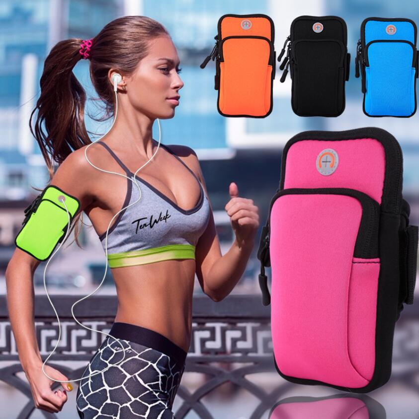 户外健身运动手机臂包手机通用手臂包多功能臂包