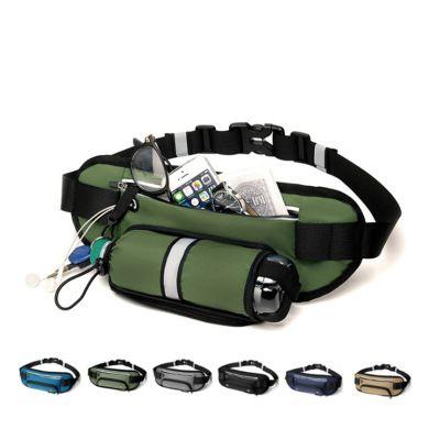 户外跑步运动包隐藏式水壶包贴身手机旅游骑行登山腰包