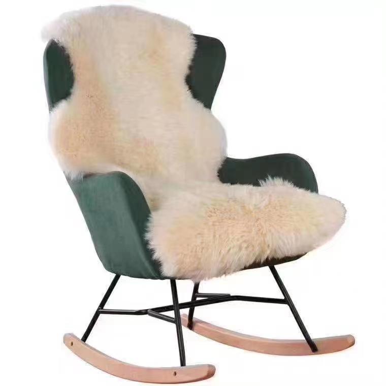 澳大利亚新西兰澳洲皮毛一体整张羊皮坐垫