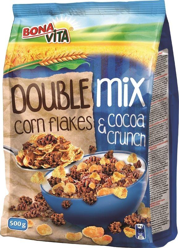 捷克进口波纳维塔BonaVita玉米麦片和巧克力脆片混合麦片500g