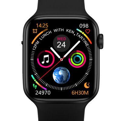 W34+智能手表蓝牙通话心率心电图跨境电商爆款多国语言运动手环