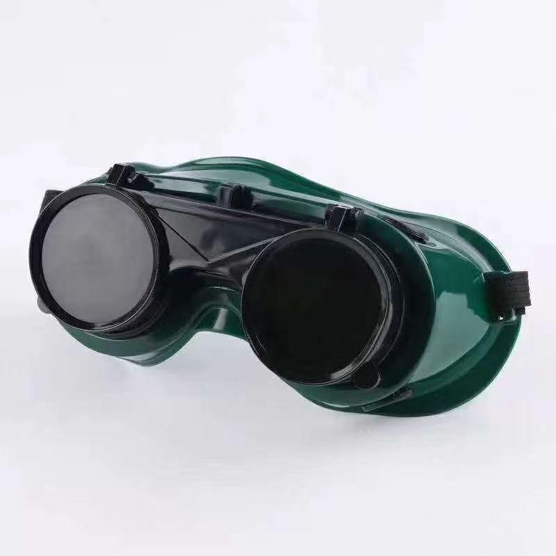 圆翻盖电焊眼镜