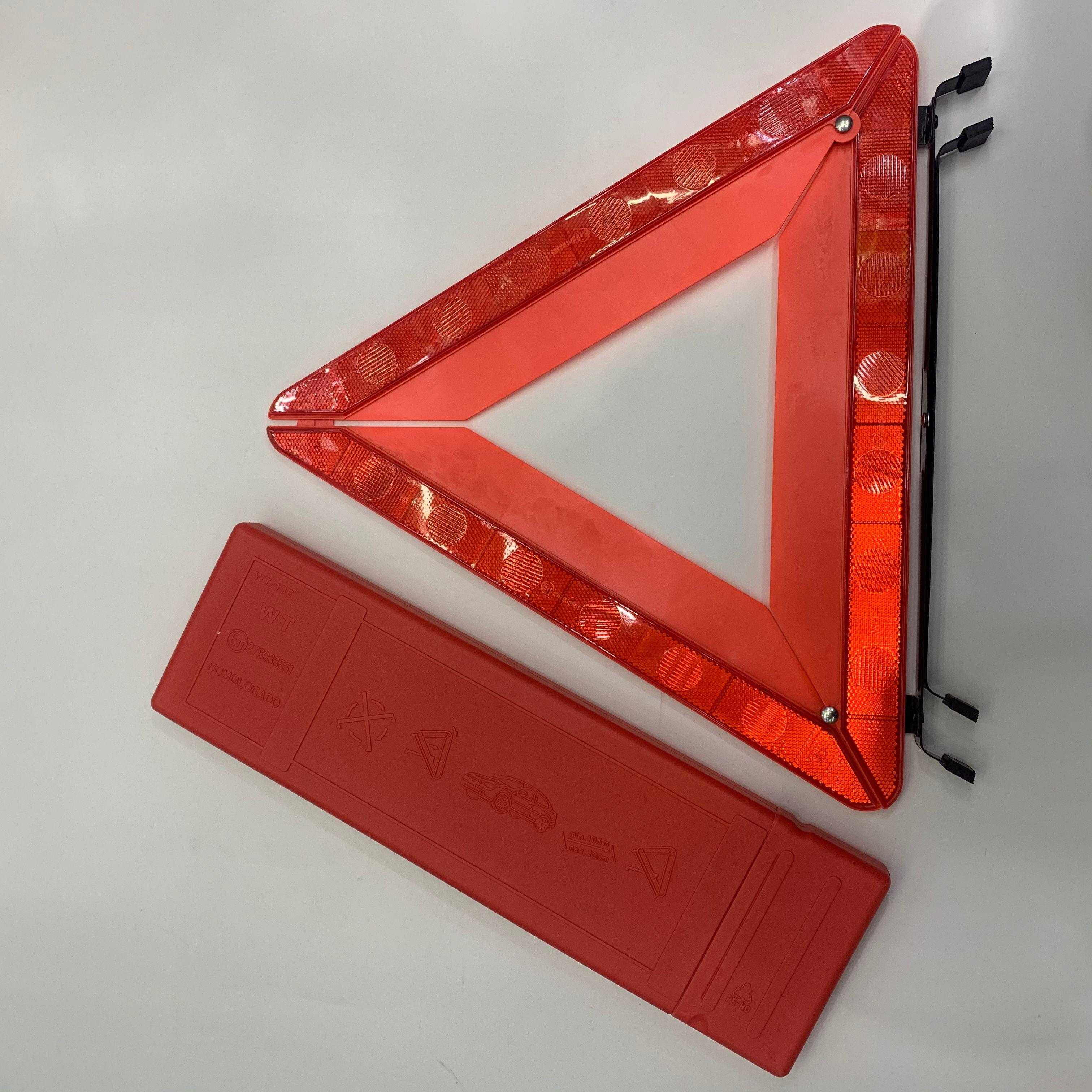汽车三角架警示牌 反光三角牌车载危险故障标志 可折叠收纳