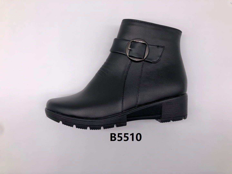 冬季2020新款女士棉鞋保暖舒适合脚休闲细腻轻便B5510