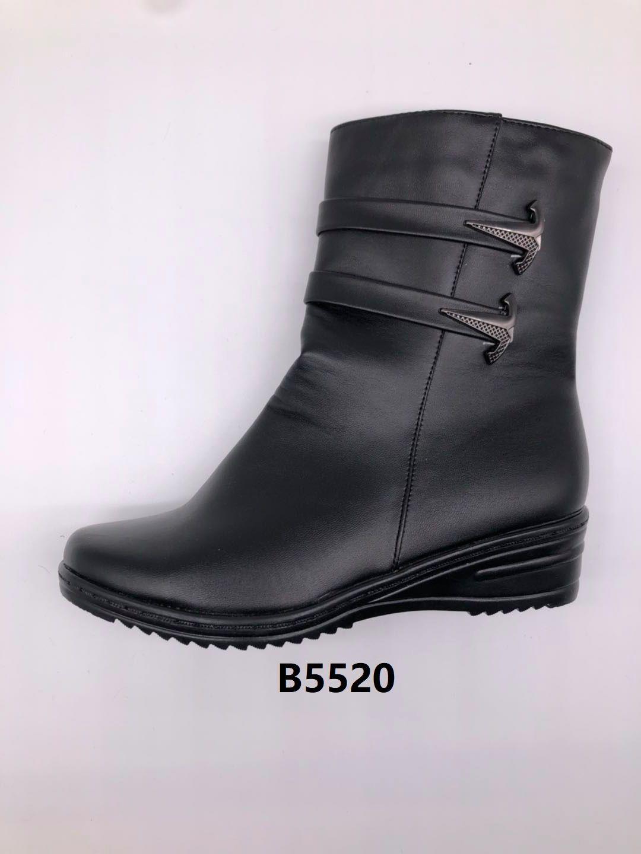 冬季2020新款女士棉鞋保暖舒适合脚休闲细腻轻便B5520