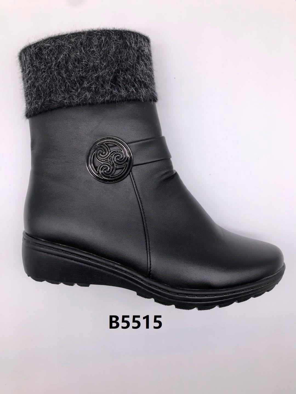 冬季2020新款女士棉鞋保暖舒适合脚休闲细腻轻便B5515