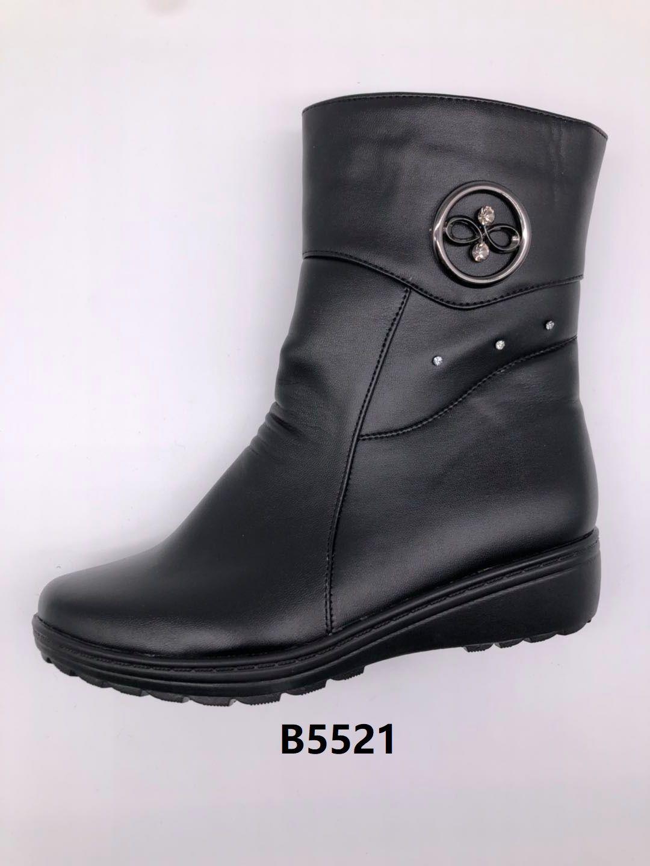 冬季2020新款女士棉鞋保暖舒适合脚休闲细腻轻便B5521