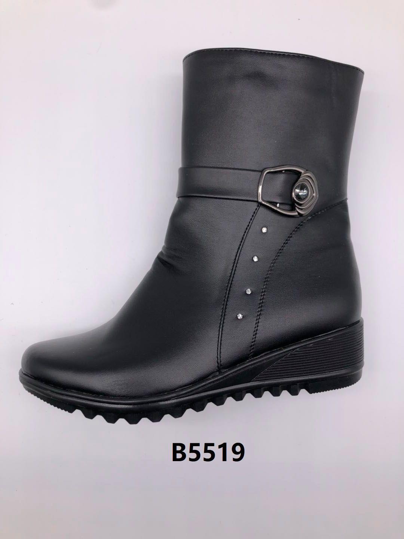 冬季2020新款女士棉鞋保暖舒适合脚休闲细腻轻便B5519