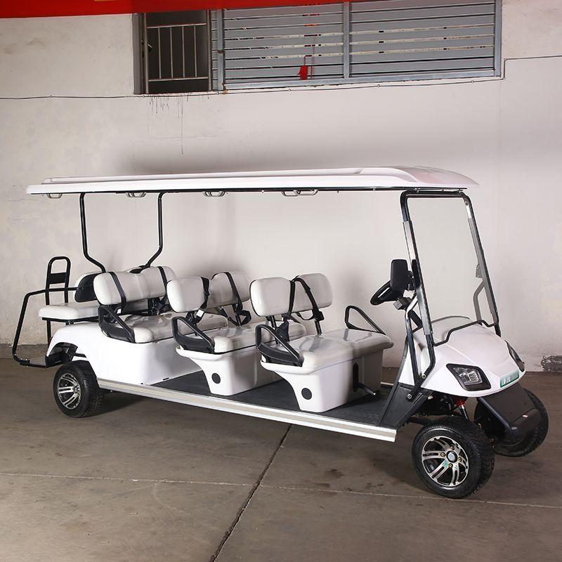 厂家直销六座景区电动巡逻车观光旅游代步车小区巡逻电瓶车