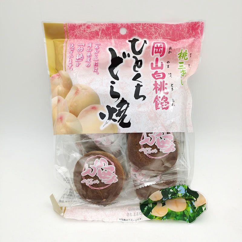 和颜爱味夹心铜锣烧( 白桃味)138g/袋