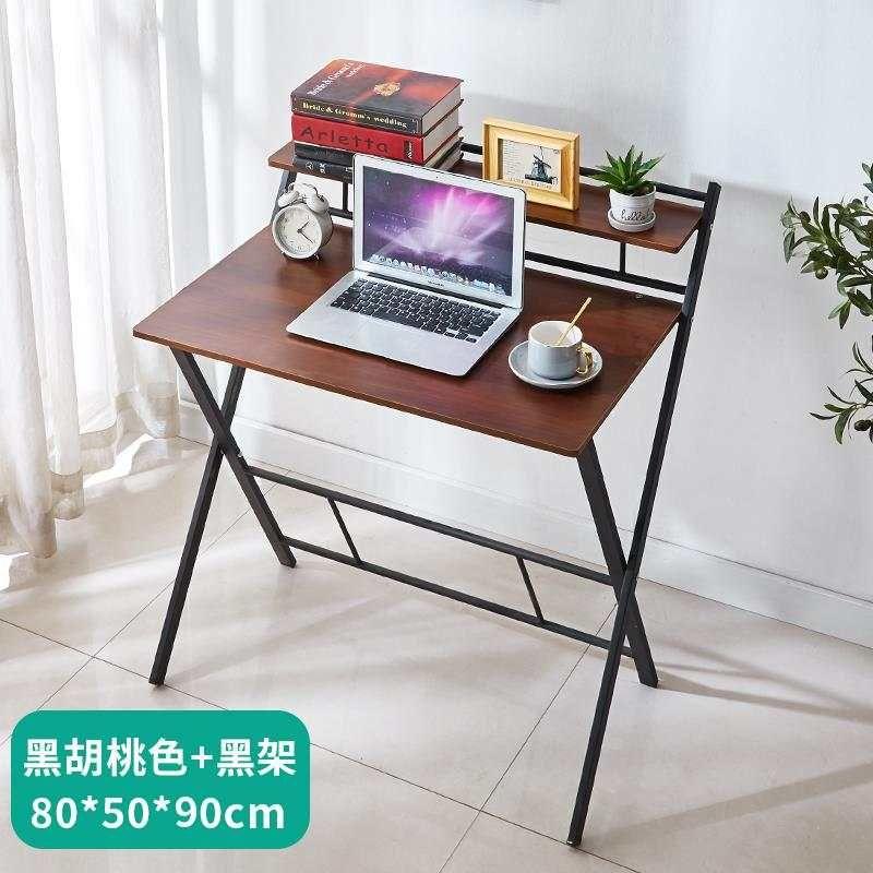 电脑桌书桌简易台式可折叠家用卧室简约小型学生写字桌办公小桌子