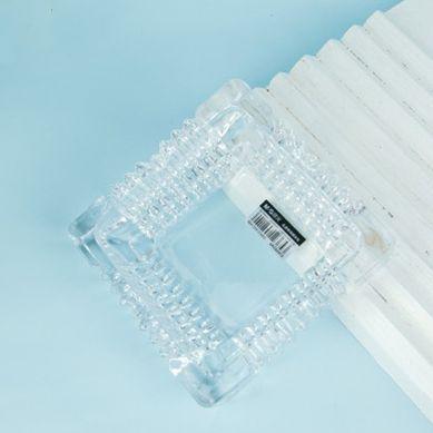 晨光晶透玻璃烟灰缸150mm*150mm ARC925C6  1份15个