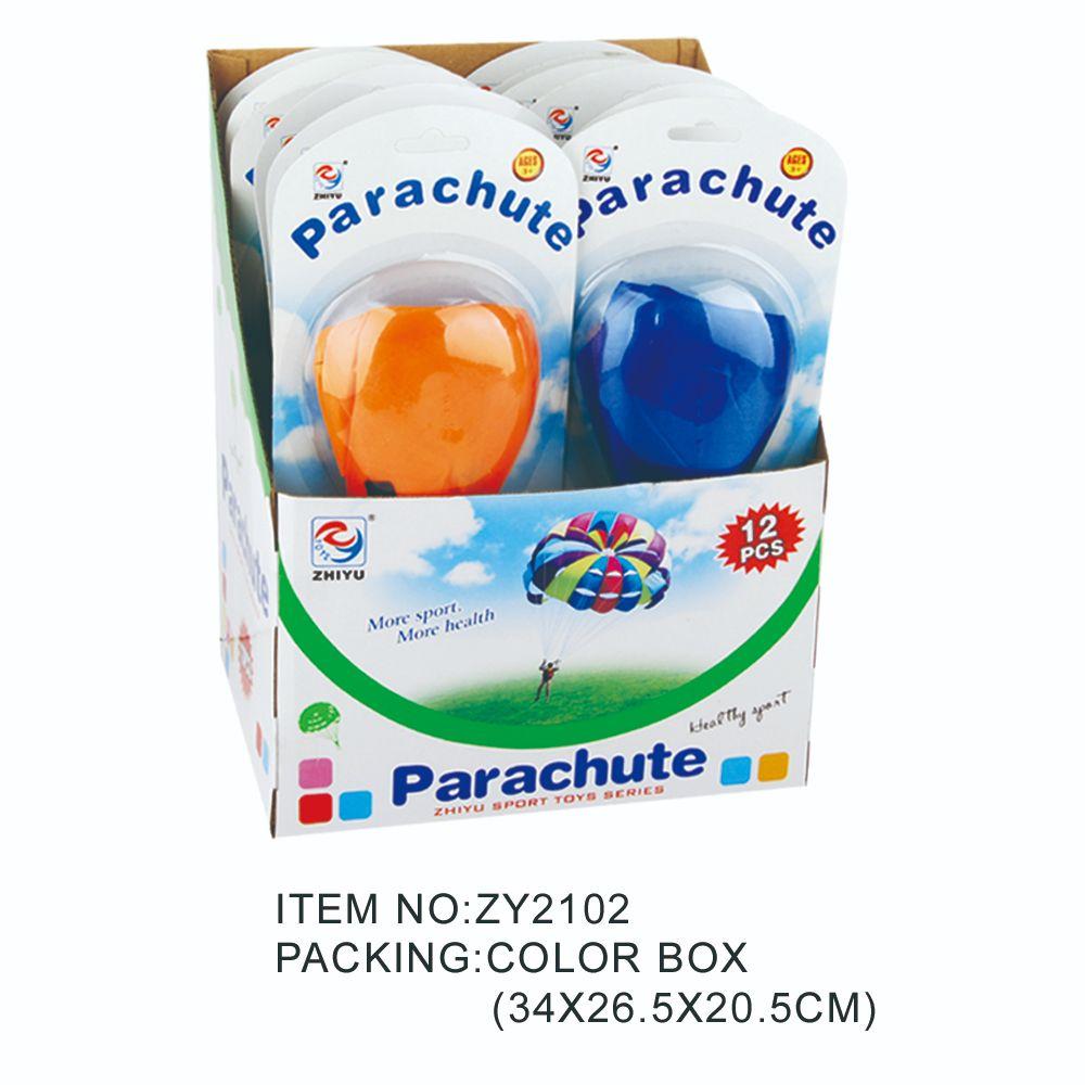 儿童体育降落伞、降落伞吸板(展示盒)ZY2102