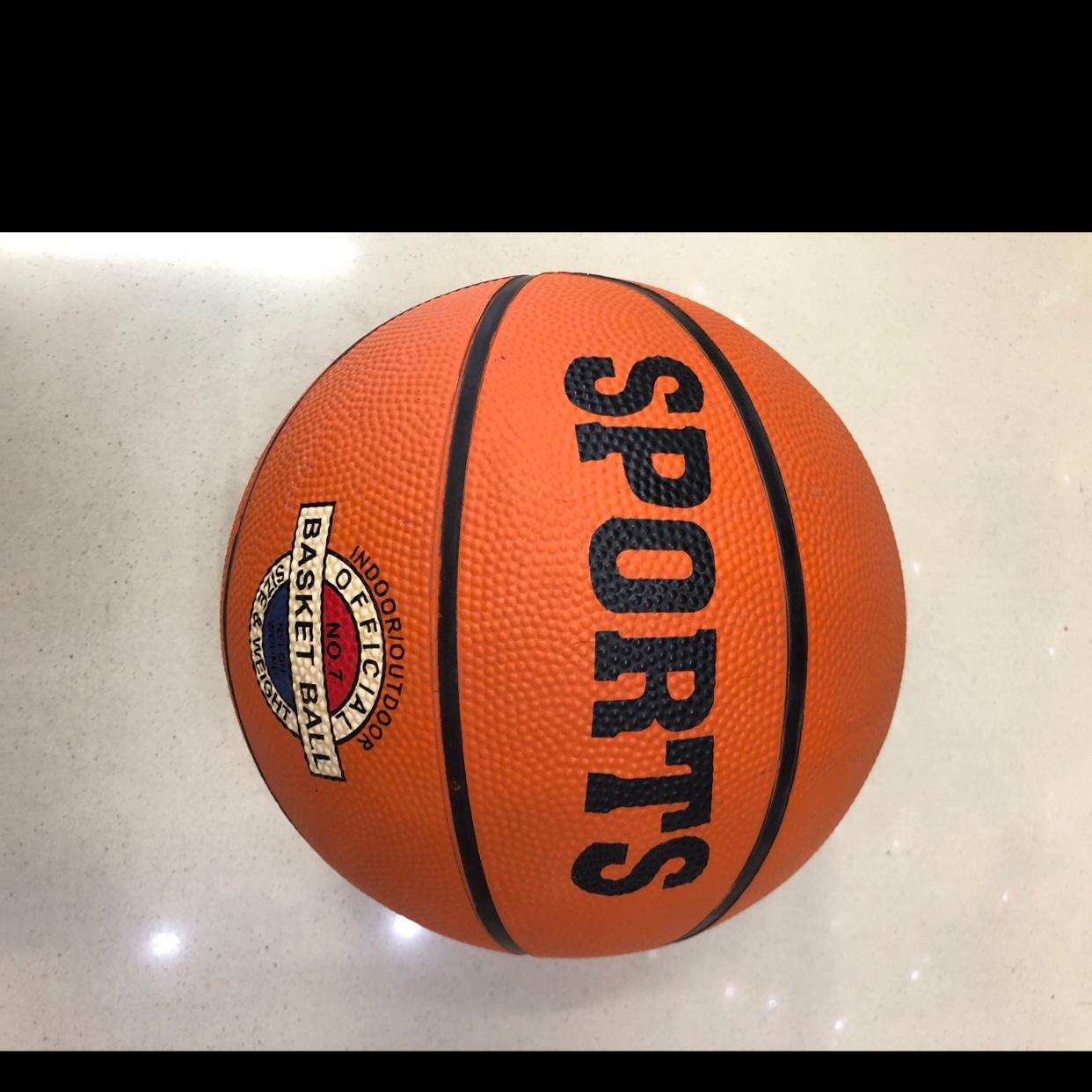 厂家直销7号橡胶篮球
