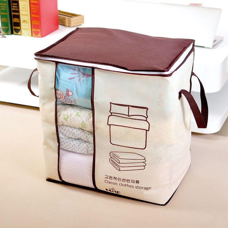 无纺布棉被收纳袋衣物棉被袋 大号整理被子防尘袋储物袋