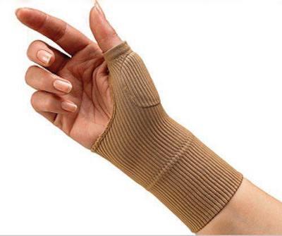 K51 Gel silicon Wrist Support glove护手指手腕软支撑软垫手套