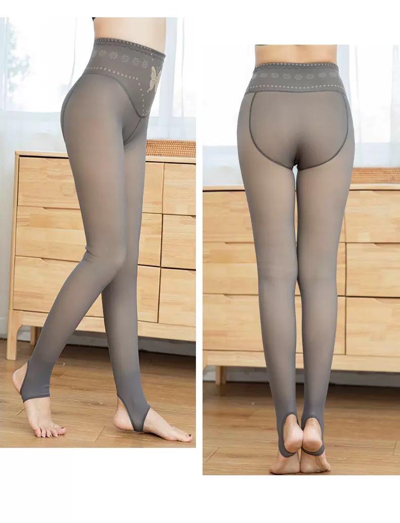 货号:9203-2 品名:300克透肤高腰绣蝴蝶 颜色:透灰、透咖、透黑 类型:踩脚、连袜 特点:收腰、束胯、美
