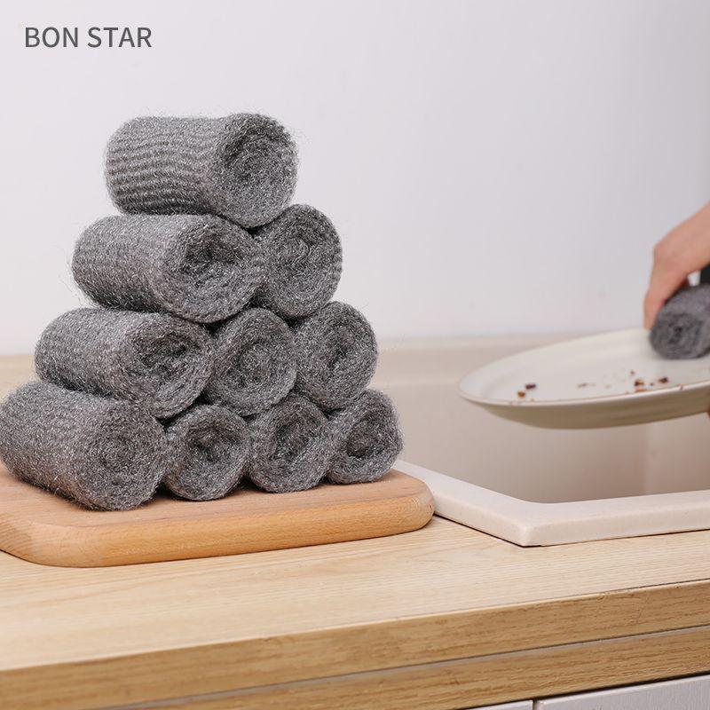 BON STAR日本多用途钢丝棉清洁棉12枚入(该商品仅做现货不接期货单,请知悉!!!)