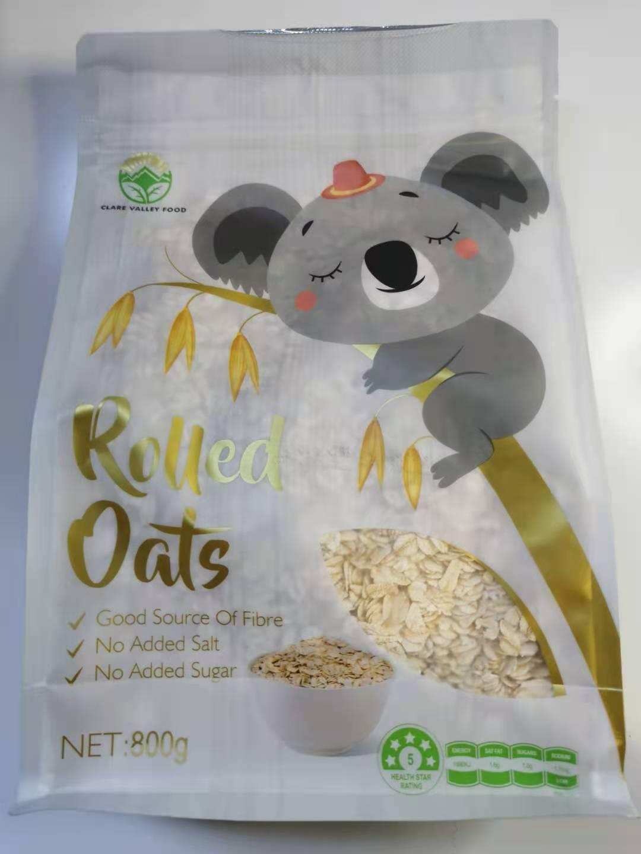 克来尔山谷藜麦米奇亚籽速食燕麦片(冲调谷物制品) 原味1000g   奇亚籽500g