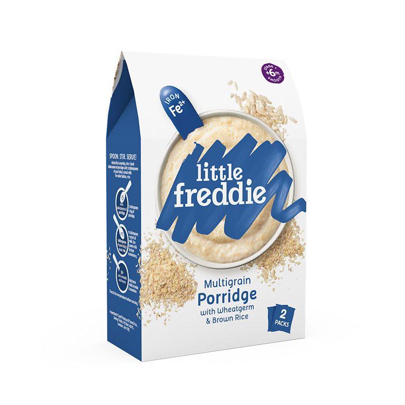 小皮 LittleFreddie高铁小麦胚芽糙米粉