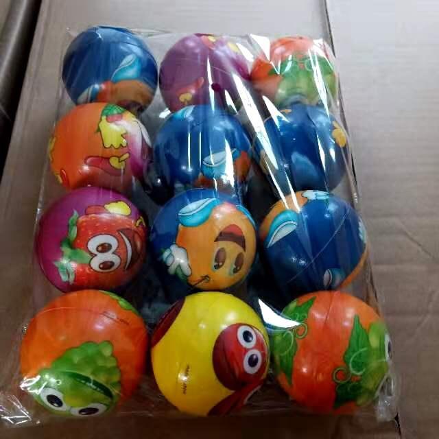 6.3公分压力球,一包12个,一件60个,体积0,16