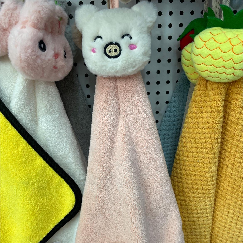 小猪擦手巾