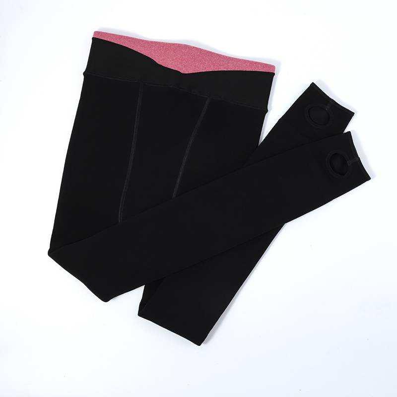 打底裤加厚500克保暖袜秋冬款透气舒适百搭超弹力高腰设计袜