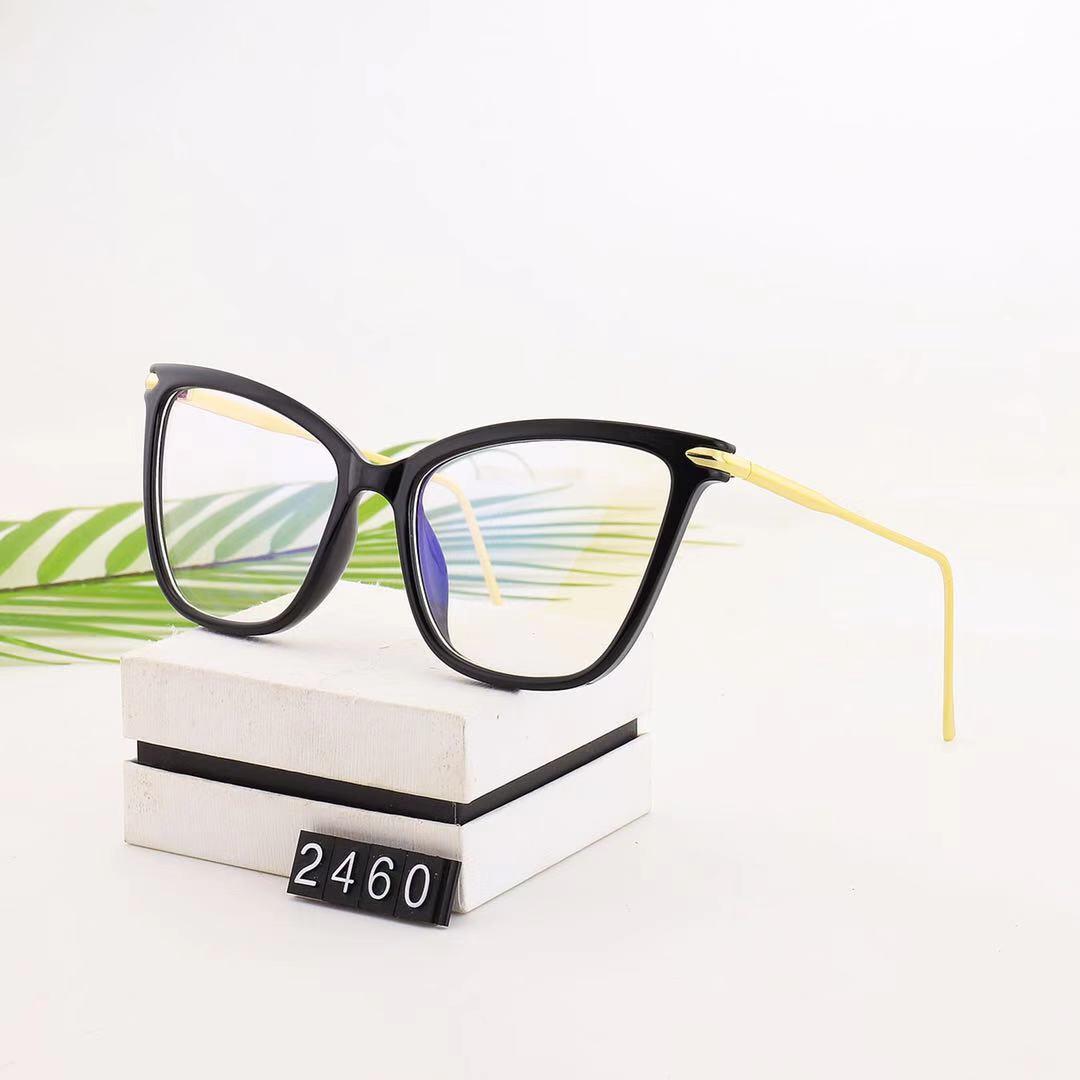 型号:2460,TR架面,金属弹簧脚丝,最新蝴蝶款,镜片防蓝光护目镜,可以直接佩戴,也可以配近视