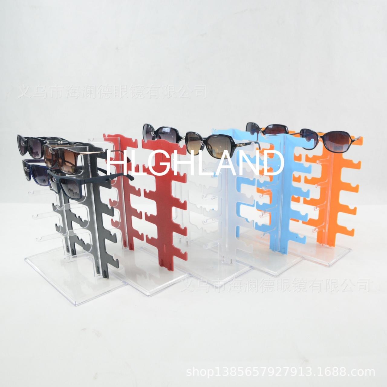 海澜德工厂直销 眼镜架眼镜展示架塑料道具亚克力架