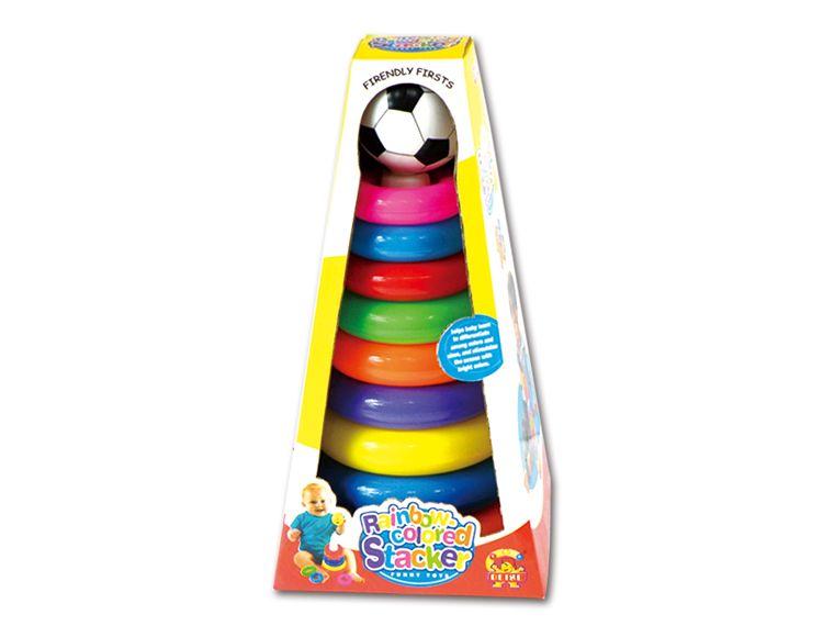 儿童体育儿童套圈、足球彩盒套圈726C