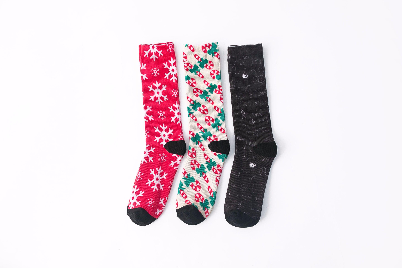 360印花袜可爱流行袜子