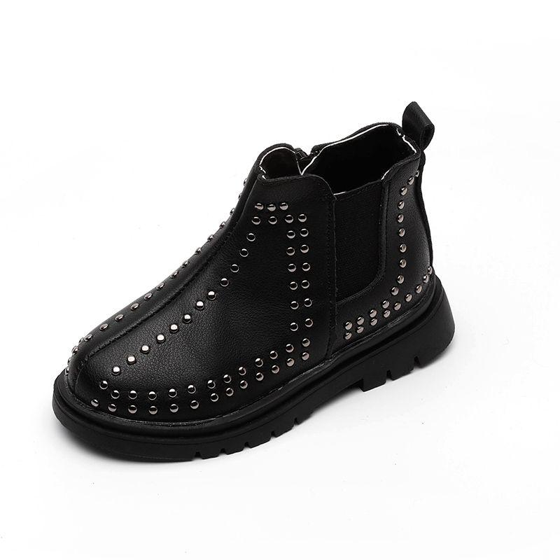 2020秋季新款铆钉童靴