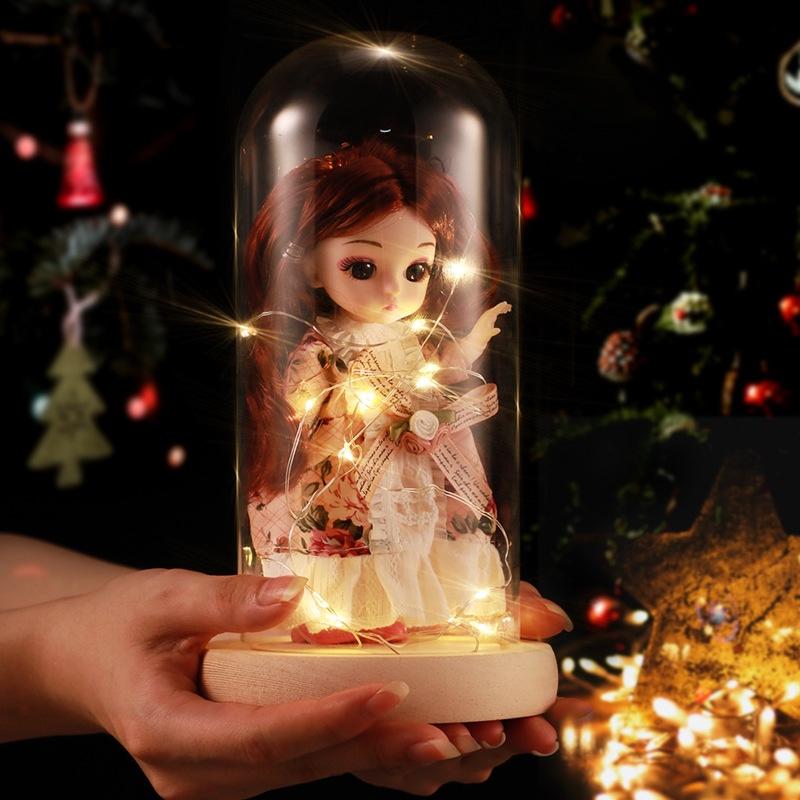 17厘米依甜芭比惊喜娃娃公主生日礼物女孩儿童