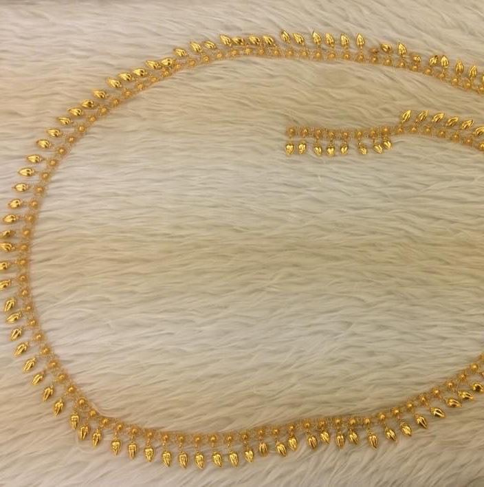 版纳民族饰品傣族泰国配饰金色 金属项链肩链套装舞台演出饰品