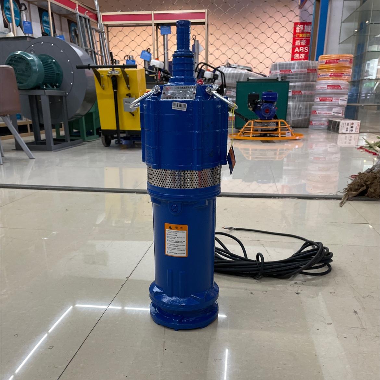上海金沪 单/三相多级油浸式潜水泵