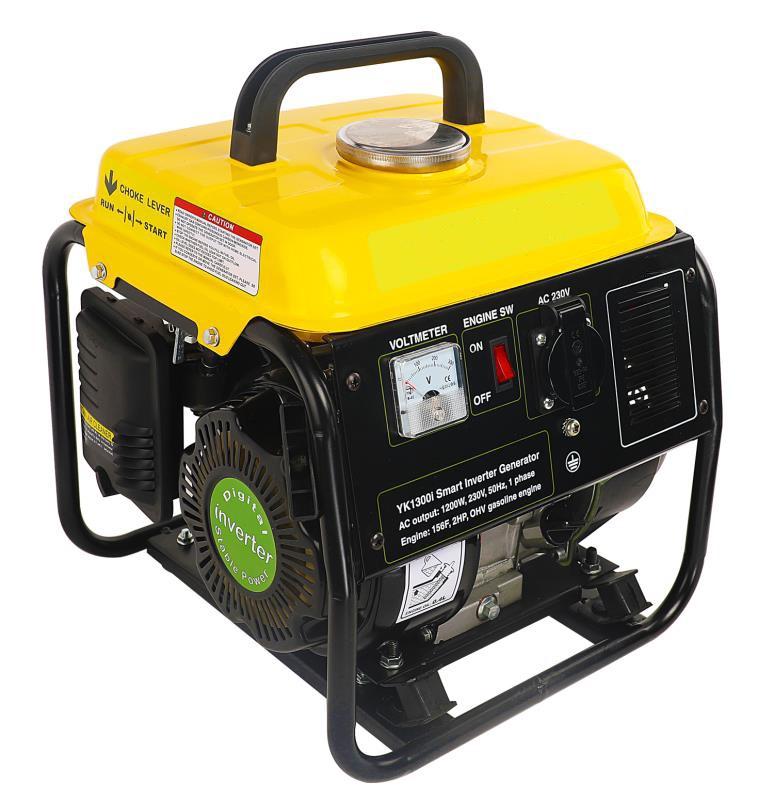 1200W小型家用便携式变频汽油发电机
