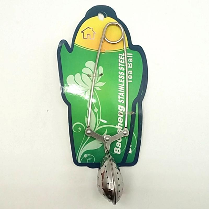 BS-7003绑卡心形夹味宝茶球茶滤器 煲汤料包过滤球