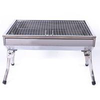 小号不锈钢折叠烧烤炉  花格网片户外便携烧烤架