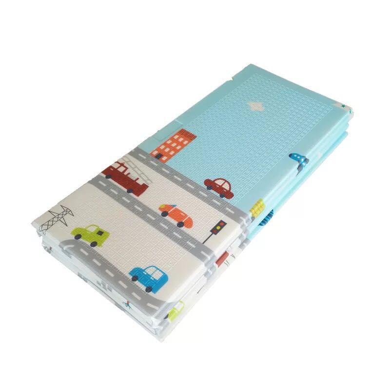 〖厂家直销〗洁太XPE折叠垫C款8mm180×200厚宝宝爬行垫儿童爬爬垫加厚隔凉防潮垫游戏毯客厅家用地垫
