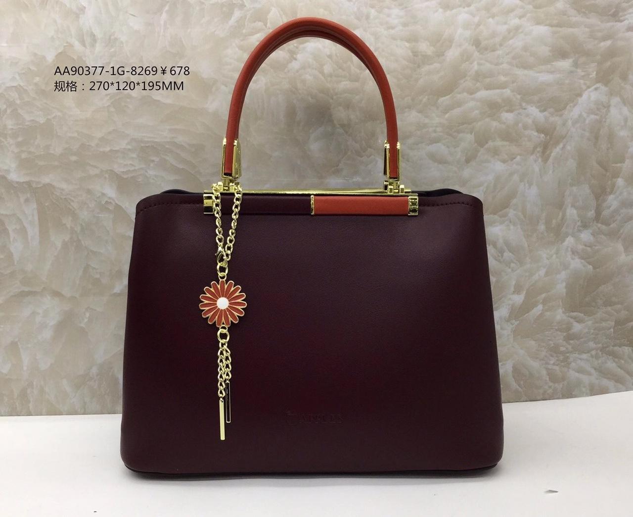 女士手提包可背,新款时尚大方,进口面料,尺寸:270*120*195CM颜色:紫色/橘黄