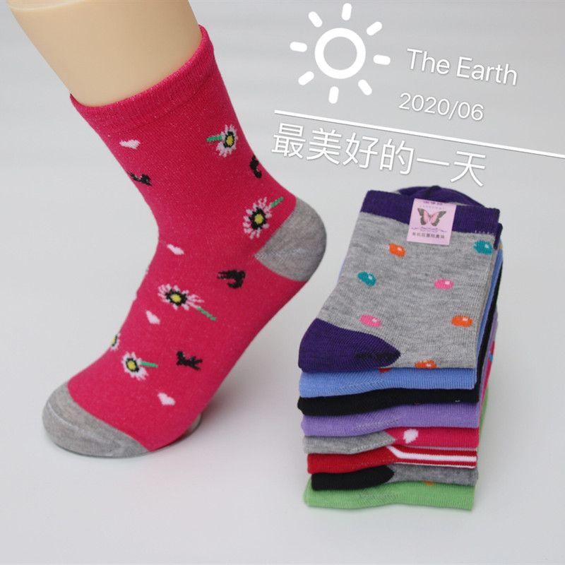 袜子厂家批发中老年女棉袜子老头袜地摊便宜袜子