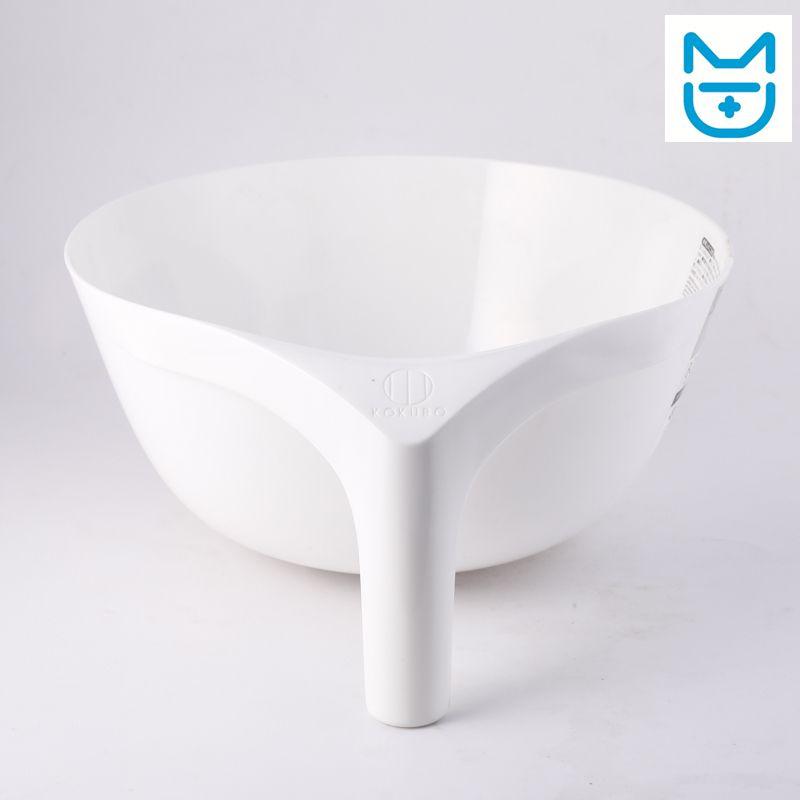带手柄洗盆(白色)