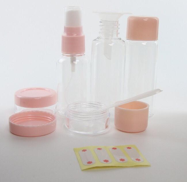 旅行七件套 替换装 化妆品空瓶 乳液瓶眼霜瓶