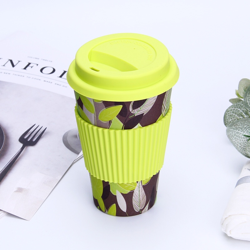 亚马逊 eBay货源 竹纤维环保杯 可降解有证书