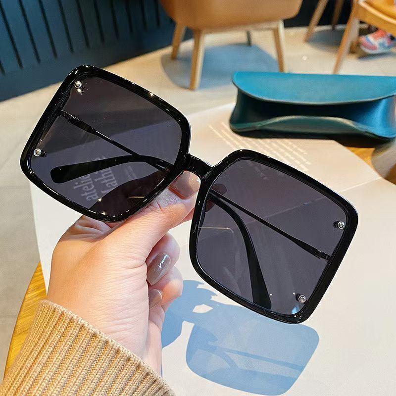 新款太阳镜大框墨镜女 潮流时尚偏光镜防紫外线男女通用眼镜批发